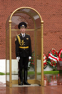 A soldier guards the Tomb of the Unknown Soldier - Moscow, Russia ... May 24, 2009 ... Photo by Emily Page