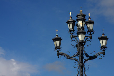 A lamp outside the Cathedral of Christ the Saviour - Moscow, Russia ... May 24, 2009 ... Photo by Rob Page III