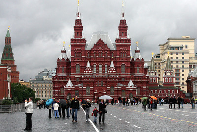 The State Historical Museum towers over Red Square - Moscow, Russia ... May 24, 2009 ... Photo by Rob Page III