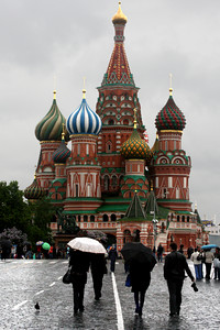 St. Basil's Cathedral looms over Red Square - Moscow, Russia ... May 24, 2009 ... Photo by Rob Page III