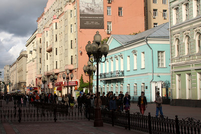 Arbat Street - Moscow, Russia ... May 24, 2009 ... Photo by Rob Page III