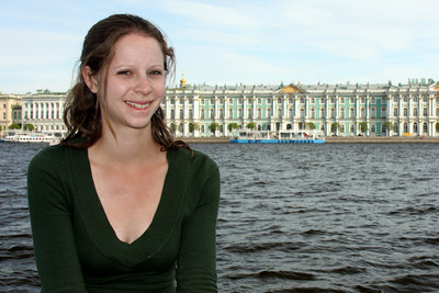 Emily and the Winter Palace - Saint Petersburg, Russia ... May 26, 2009 ... Photo by Rob Page III