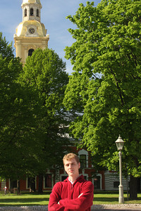 Rob with the Peter and Paul Cathedral in the background - Saint Petersburg, Russia ... May 26, 2009 ... Photo by Emily Page