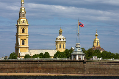The Peter and Paul Fortress located across the Neva River from the Winter Palace - Saint Petersburg, Russia ... May 26, 2009 ... Photo by Rob Page III
