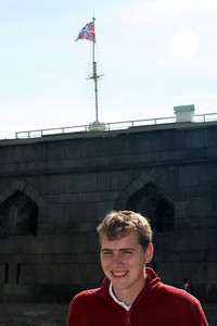 Rob at the Peter and Paul Fortress - Saint Petersburg, Russia ... May 26, 2009 ... Photo by Emily Page
