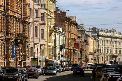 The streets of Saint Petersburg - Saint Petersburg, Russia ... May 26, 2009 ... Photo by Rob Page III