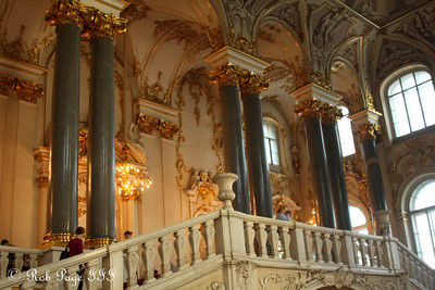 The ornateness of the Jordan Staircase in the Hermitage - Saint Petersburg, Russia ... May 27, 2009 ... Photo by Rob Page III