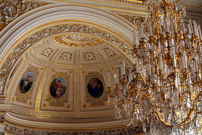 Inside the Pavillion Room in the Hermitage - Saint Petersburg, Russia ... May 27, 2009 ... Photo by Rob Page III