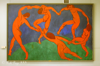 """Matisse's """"The Dance"""" in the Hermitage Museum - Saint Petersburg, Russia ... May 27, 2009 ... Photo by Rob Page III"""