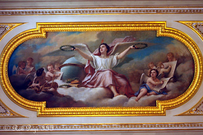 A mural on the ceiling in the Hermitage - Saint Petersburg, Russia ... May 27, 2009 ... Photo by Rob Page III
