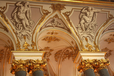 Some of the ornateness of the Jordan Staircase in the Hermitage - Saint Petersburg, Russia ... May 27, 2009 ... Photo by Rob Page III