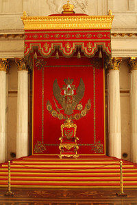 The Throne in the St. George Hall in the Hermitage - Saint Petersburg, Russia ... May 27, 2009 ... Photo by Rob Page III
