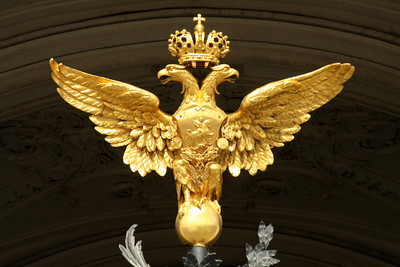 One of the tsar's two-headed eagles - Saint Petersburg, Russia ... May 26, 2009 ... Photo by Rob Page III