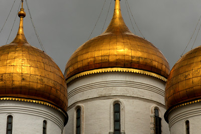 Uspensky Cathedral - Moscow, Russia ... May 25, 2009 ... Photo by Rob Page III