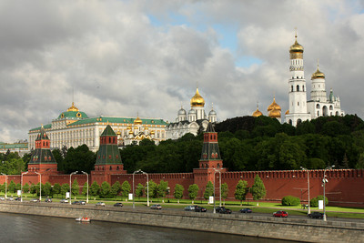 The Kremlin - Moscow, Russia ... May 25, 2009 ... Photo by Rob Page III
