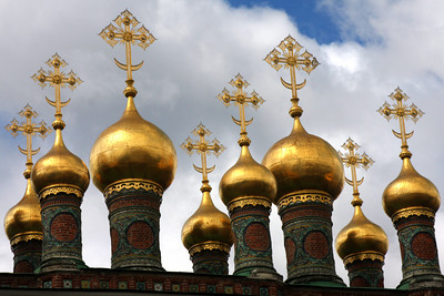 The Church of the Deposition of the Robe - Moscow, Russia ... May 25, 2009 ... Photo by Rob Page III