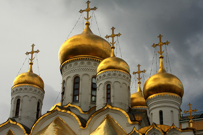 The Cathedral of the Annunciation at the Kremlin - Moscow, Russia ... May 25, 2009 ... Photo by Rob Page III