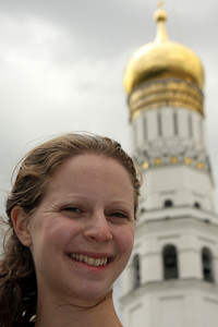 Emily and the Ivan the Great Belltower - Moscow, Russia ... May 25, 2009 ... Photo by Rob Page III