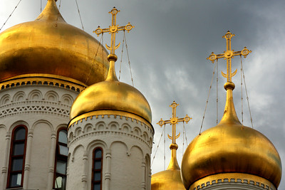 The Cathedral of the Annunciation - Moscow, Russia ... May 25, 2009 ... Photo by Rob Page III