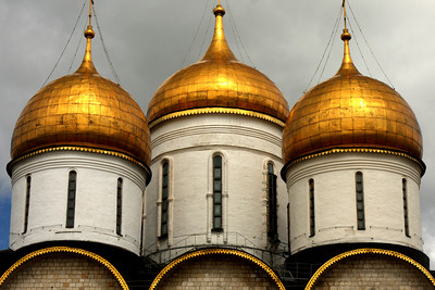 Uspensky Cathedral in the Kremlin - Moscow, Russia ... May 25, 2009 ... Photo by Rob Page III