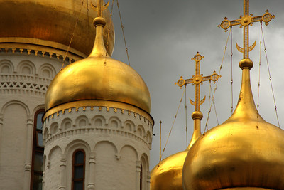 Cathedral of the Annunciation - Moscow, Russia ... May 25, 2009 ... Photo by Rob Page III
