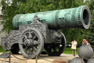 Ivan the Great's giant cannon - Moscow, Russia ... May 25, 2009 ... Photo by Rob Page III