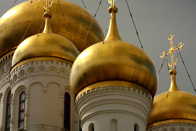 The Cathedral of the Annunciation in the Kremlin - Moscow, Russia ... May 25, 2009 ... Photo by Rob Page III
