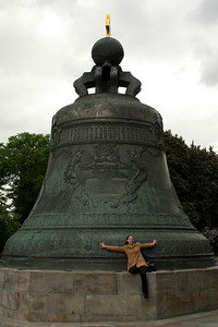 Emily and the giant bell - Moscow, Russia ... May 25, 2009 ... Photo by Rob Page III
