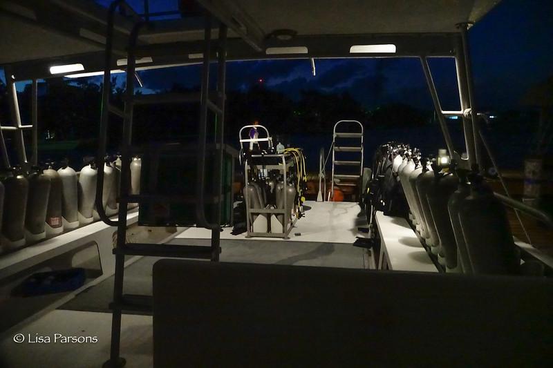 Predawn Boat