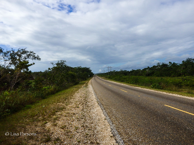 The Long Flat Road to the Coast of Belize
