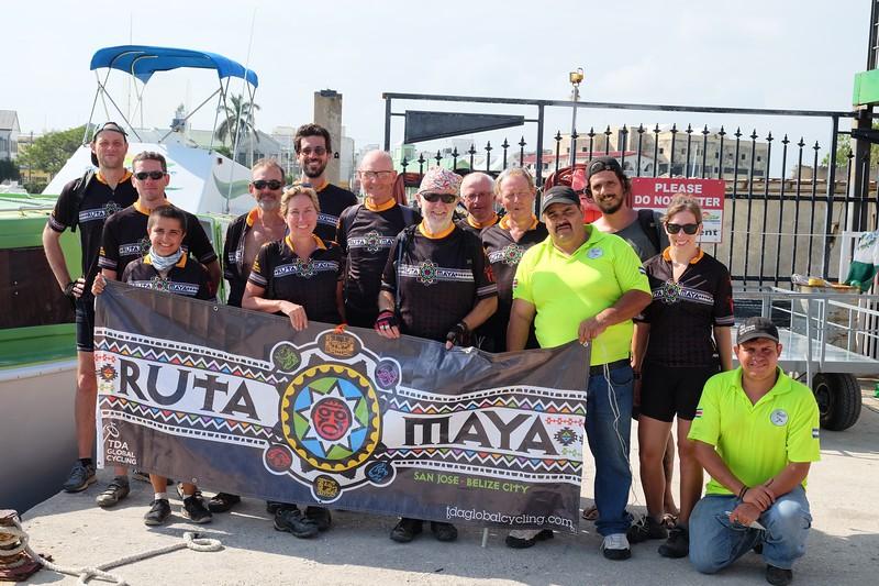 Group Photo at the End of Ruta Maya 2017