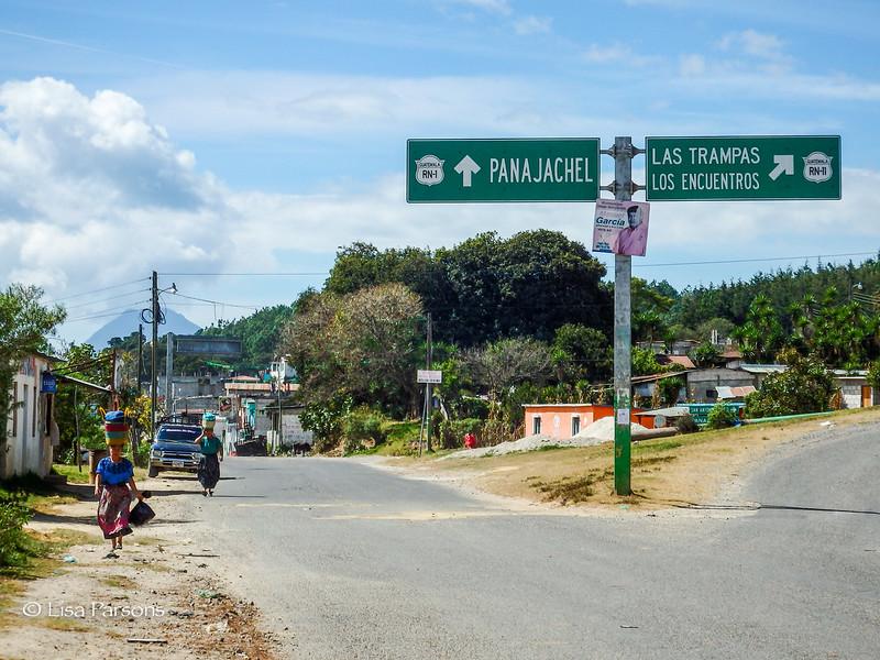 Left to Panajachel