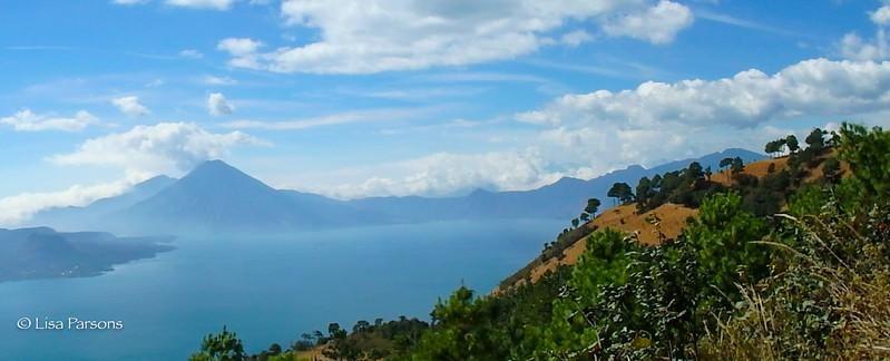 Pano of Lake Atitlan