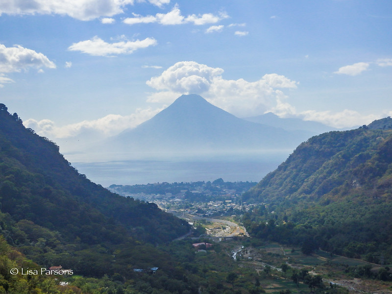 Descending to Lake Atitlan