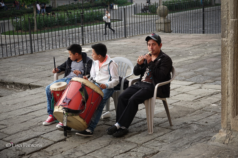 Musicians Outside the Cathedral