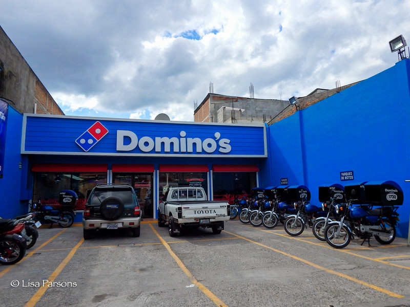 Yes, They Have a Dominos