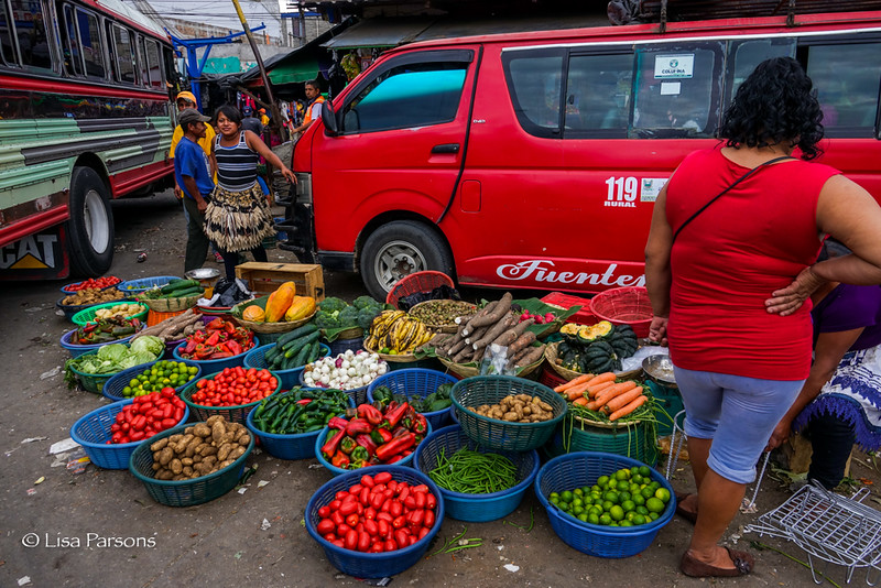 Vegetables For Sale at the Bus Terminal