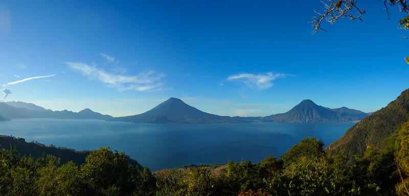 Pano Leaving Lake Atitlan