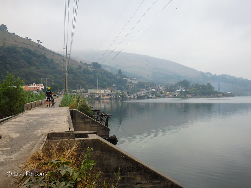 Bridge Over Lake Amatitlan