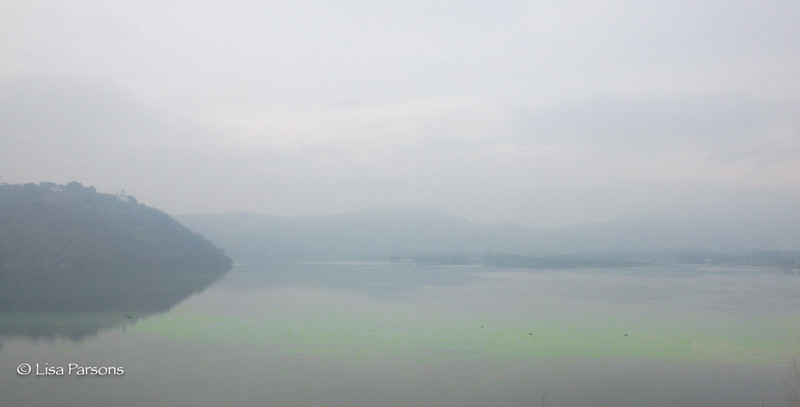 Green Glow on Lake Amatitlan