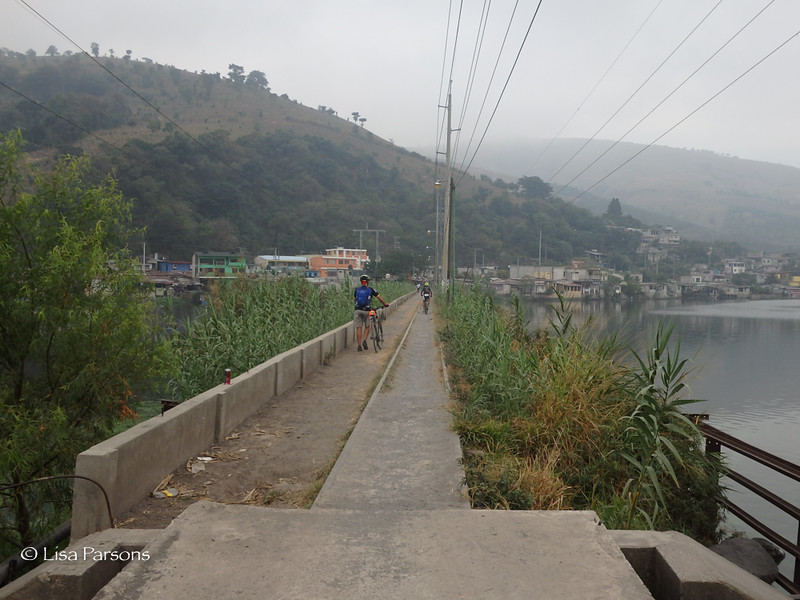 Pedestrian Bridge over Lake Amatitlan