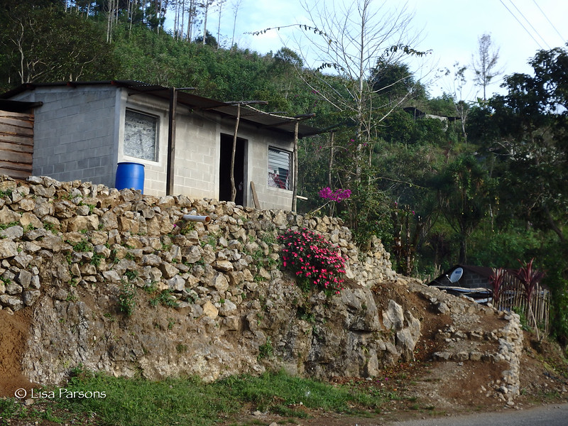 Cement Block House