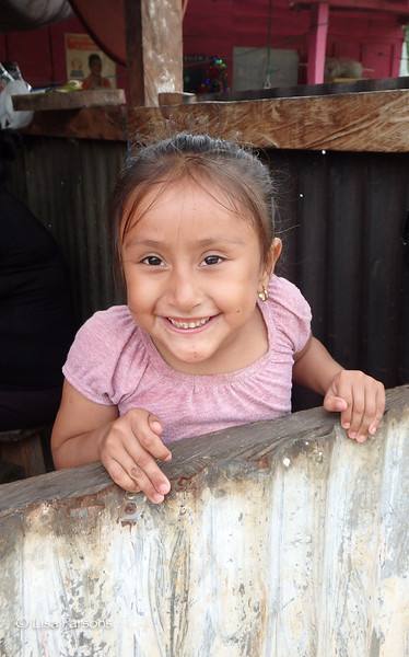 Friendly Little Girl