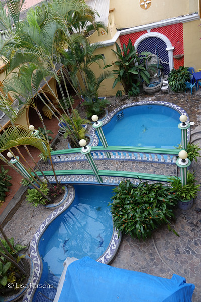 Pool From the Roof