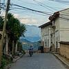 La Calle Con Vista de Las Montanas