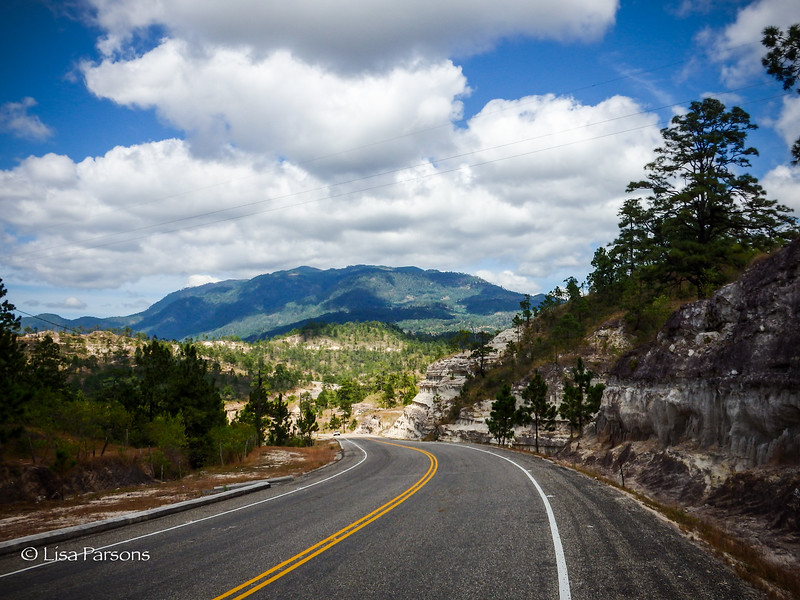 Highway Through the Mountains