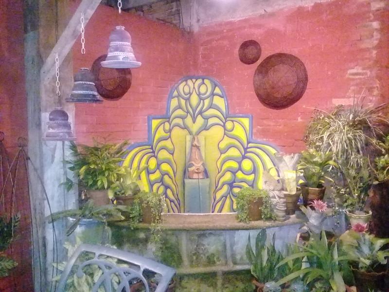 Fountain at Restaurant