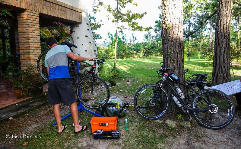 Andreas, Our Bike Mechanic