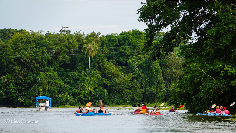 Kayakers Around the Islands
