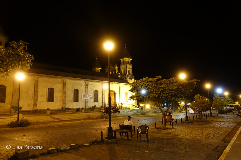 Night Near Our Hotel
